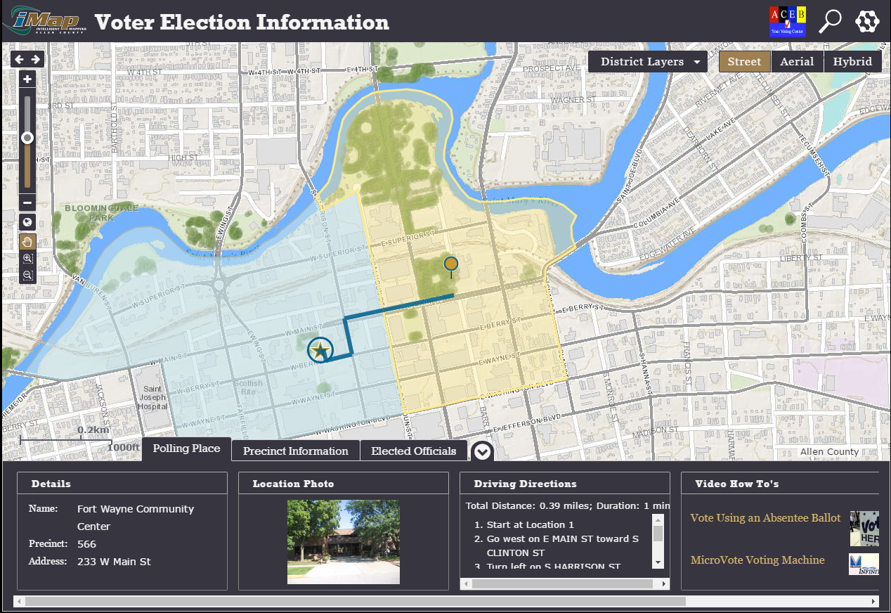 election viewer screenshot